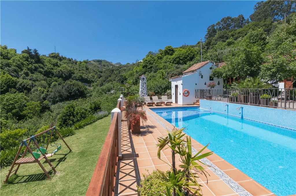 Casa rural con piscina compartida en fontanales gran canaria moya gc0001 - Casa rural gran canaria con piscina ...