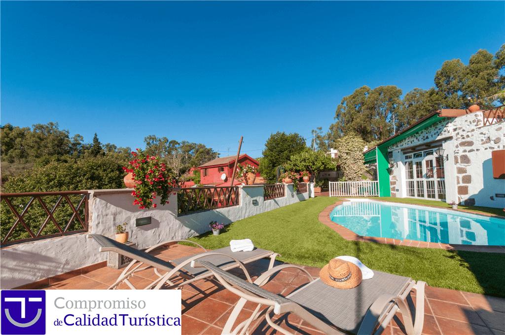 Maison de vacances avec piscine priv e firgas gran - Casas de campo en gran canaria ...