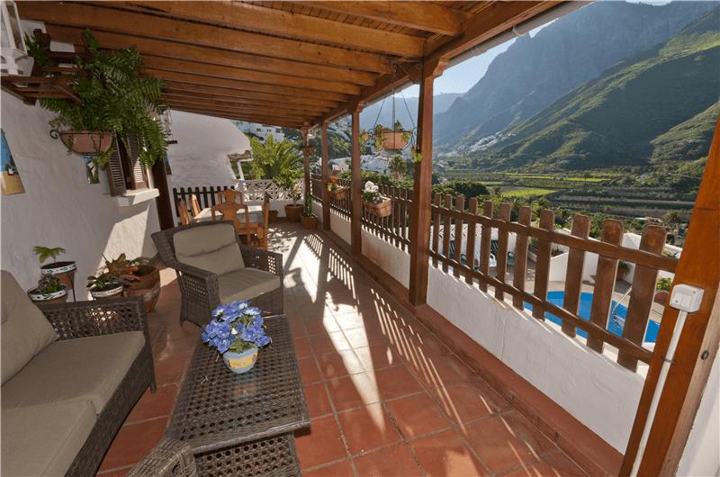 Casa vacacional con piscina privada en agaete gran canaria agaete gc0364 - Casas rurales en gran canaria con piscina privada ...