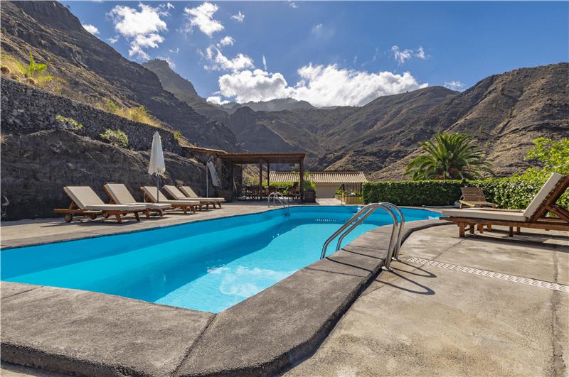 Casa rural con piscina privada en el risco agaete gran canaria agaete gc0370 - Casa rural gran canaria con piscina ...