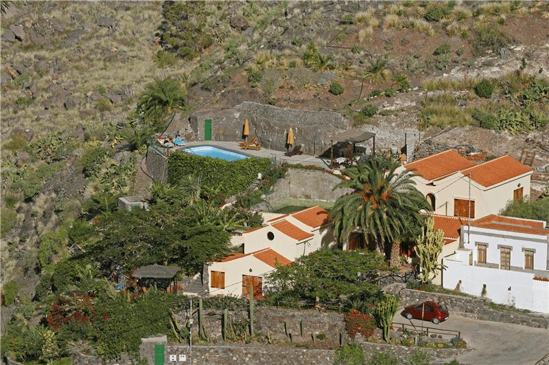 Casa rural con piscina privada en el risco agaete gran canaria agaete gc0370 - Casa rural agaete ...