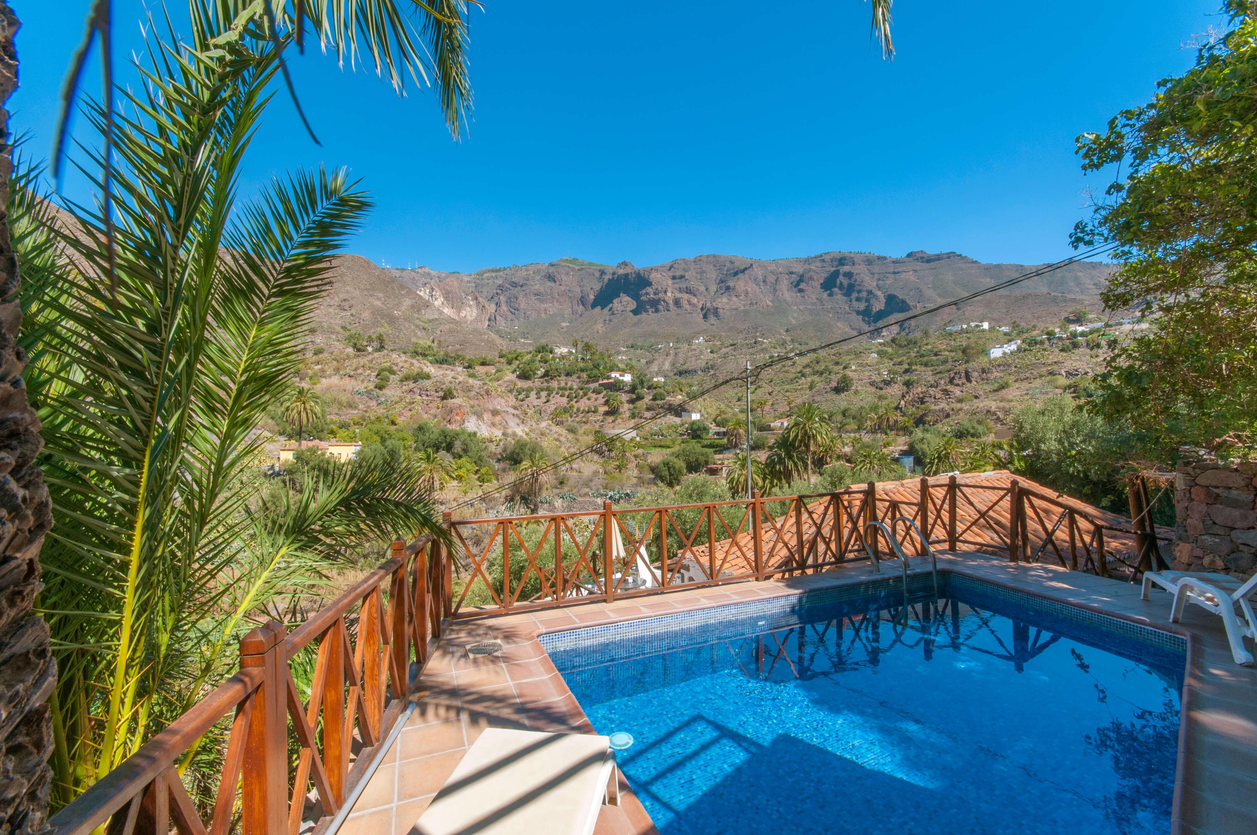 Casa Rural Con Piscina Privada En San Bartolome Gran Canaria