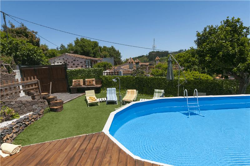 Casa rural con piscina compartida en valleseco gran canaria valleseco gc0041 - Casa rural gran canaria con piscina ...