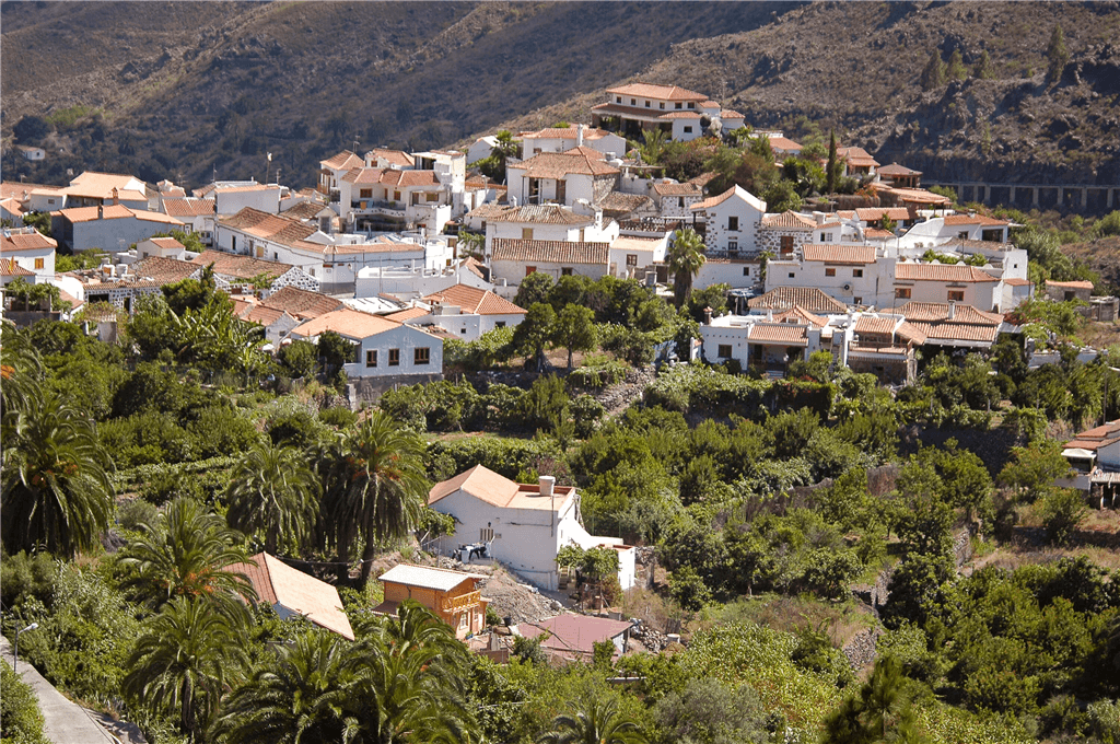Holiday Cottage In Fataga Gran Canaria San Bartolom 233 De