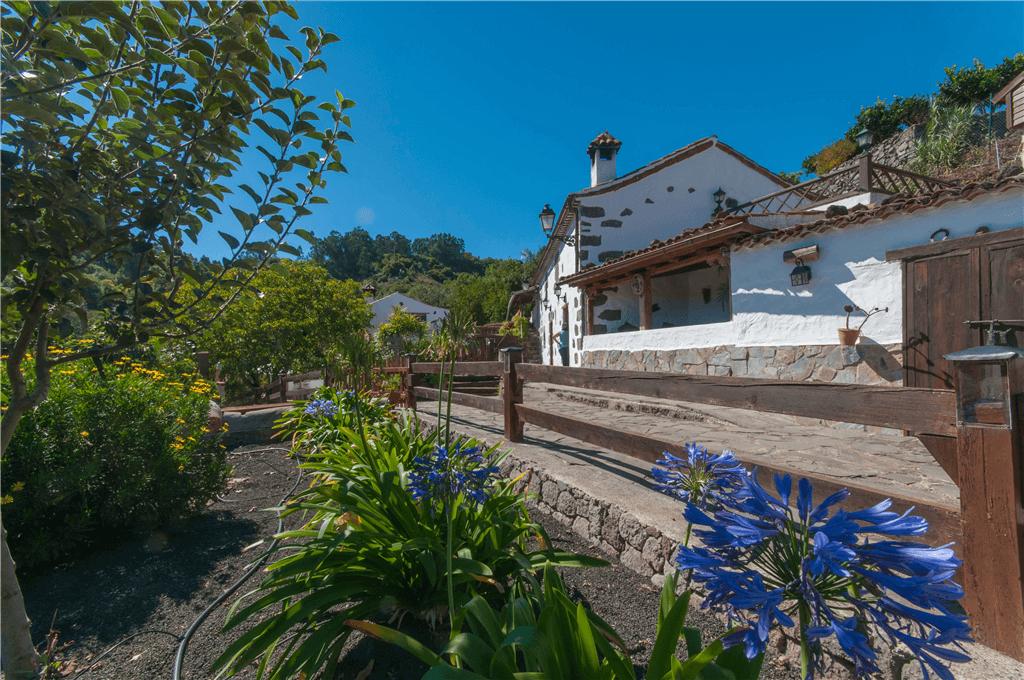 Casa rural con piscina compartida en valleseco gran canaria valleseco gc0042 - Ofertas casas rurales gran canaria ...