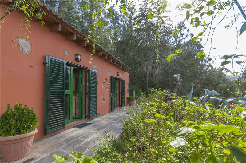 Casa rural con piscina compartida en el zumacal gran canaria firgas gc0023 - Casa rural gran canaria con piscina ...